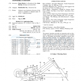 Apparatus and kit for coupling a snowmobile suspension