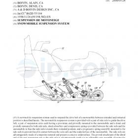 Snowmobile suspension system (CA)