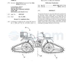 Track assembly for an all-terrain vehicle (US)